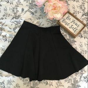 Black Brandy Melville Skater Skirt
